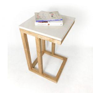 Mesa lateral CANIS madera